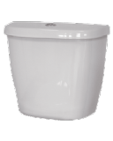 Low Level Push Button Cistern Bottom Entry White - 05005281